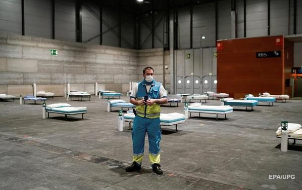 В Испании за сутки почти 400 умерших от COVID-19