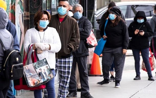 В США более 500 тысяч зараженных коронавирусом