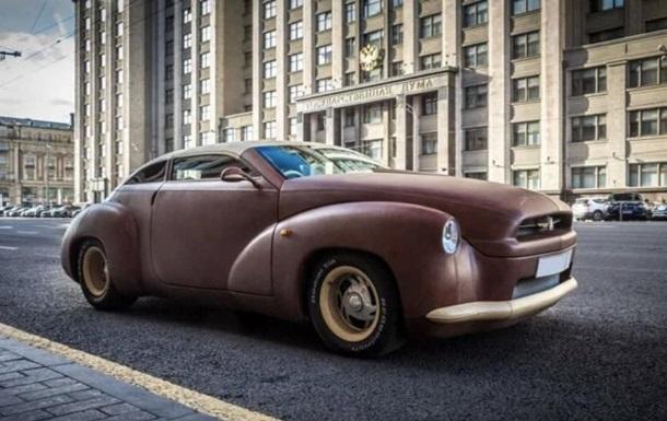 В Москве продали авто, обтянутое кожей бизона